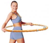 Обруч гимнастический массажный Torneo A-101M