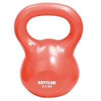 Гиря Kettler 2,5 кг красная 7370-064