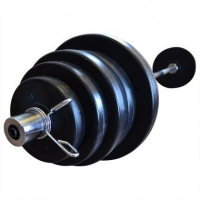 Штанга олимпийская композитная в пластиковой оболочке Newt Rock Pro  гриф 1,8 м , 75 кг NE-PL-OL-075-180