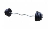 Штанга наборная композитная в пластиковой оболочке Newt Rock Pro 27 кг w-образный гриф NE-PL-W-027