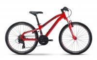 """Велосипед Haibike SEET HardFour 1.0 24"""", рама 30 см, 2017, красный"""