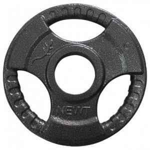 Диск тяжелоатлетический с хватами Newt 1,25 кг TI-N-01