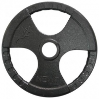 Диск тяжелоатлетический с хватами Newt 15 кг TI-N-015