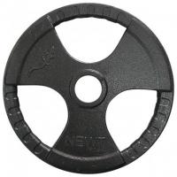 Диск тяжелоатлетический с хватами Newt 20 кг TI-N-020