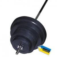 Штанга наборная, композитная Newt Rock 72 кг NE-KP-180-072