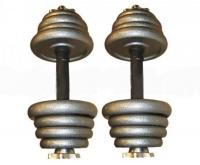 Гантели наборные стальные 2 шт по 6,5 кг