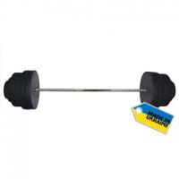 Штанга наборная, композитная Newt Rock 180 кг NE-KP-180-180