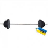 Штанга наборная, композитная Newt Rock 52 кг NE-KP-180-052