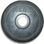 Диск обрезиненный Alex RCP10-0.5