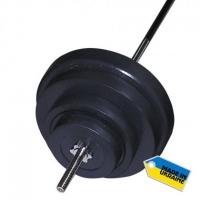 Штанга наборная, композитная Newt Rock 107 кг NE-KP-180-107