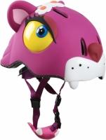 Шлем детский, анимированный, с фонарем безопасности  CRAZY SAFETY (Дания)