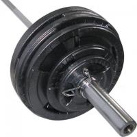 Штанга наборная олимпийская Newt  73 кг. Гриф 1,8 м. TI-NE0073-1800